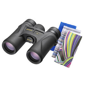 Nikon 10x30 Prostaff 7s Binocular with Optex 3-Pack Microfibre Cloth - PKG 16366