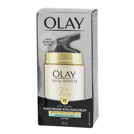 Olay Total Effects 7x Visible Anti-Aging Moisturizing Cream with UV Protection - 50ml
