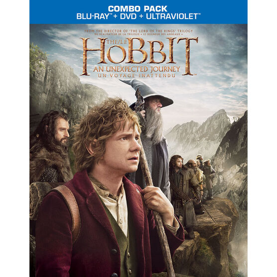 The Hobbit: An Unexpected Journey - Blu-ray + DVD + Ultraviolet Digital Copy