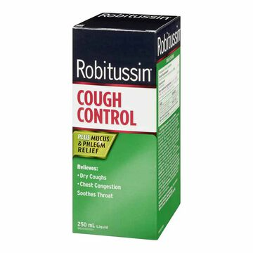 Robitussin DM Cough Control Syrup - 250ml