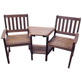 Acacia Love Seat with Table - PTWB01290