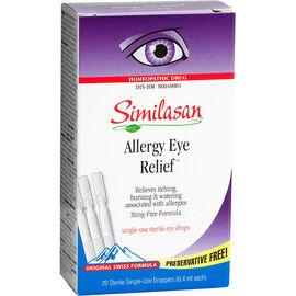Similasan Allergy Eye Relief - 20 x .4ml