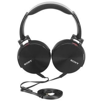 Sony Extra Bass Smartphone-capable Premium Headphones - Black - MDRXB950AP