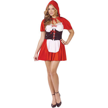 Halloween Red Hot Riding Hood Costume - SM/MED