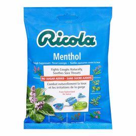 Ricola Swiss Herb Drops - Menthol No Sugar Added - 75g