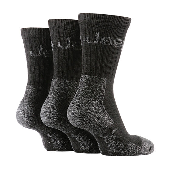 Jeep Boot Socks Men's - Black