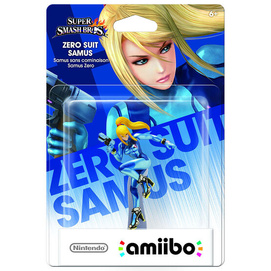Nintendo Amiibo Zero Suit Samus