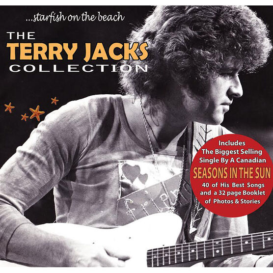 Terry Jacks - Starfish on the Beach: Terry Jacks Collection - 2 CD