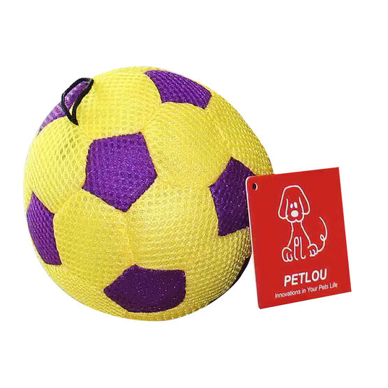 Stuffed Dog Toy - Soccer Ball