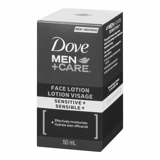 Dove Men+Care Face Lotion - Sensitive+ - 50ml