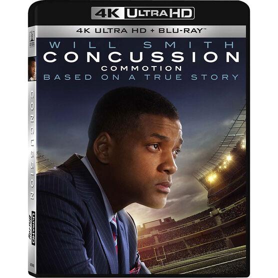 Concussion - 4K UHD Blu-ray