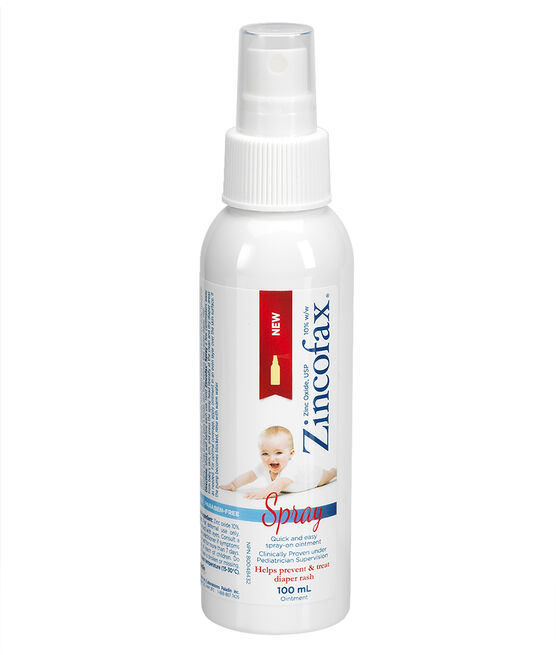 Zincofax Spray On Ointment - 100ml