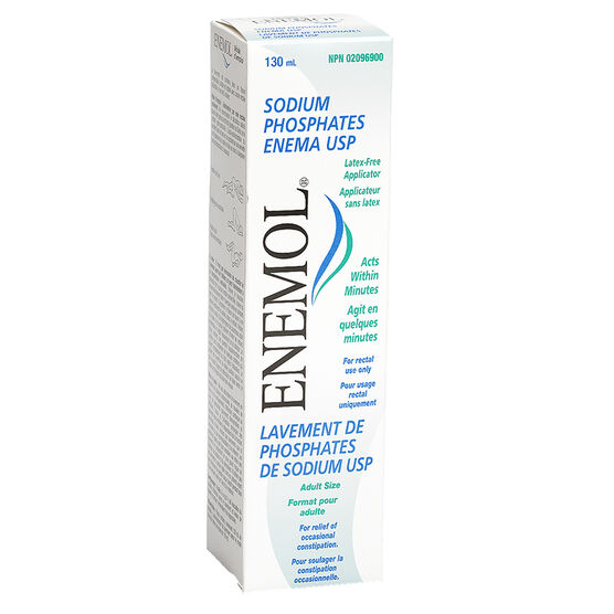 Enemol Regular Enema - 130ml