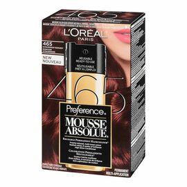 L'Oreal Preference Mousse Absolue Reusable Permanent Haircolour