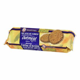 Voortman No Sugar Added Oatmeal Cookies - 225 g