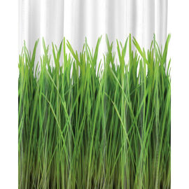 Splash Home Grass Shower Curtain - Green - 70 x 72inch