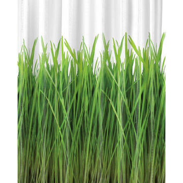 Splash Home Grass Shower Curtain - Green - 70 x 72inch