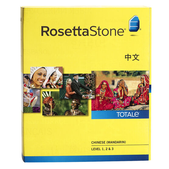 Rosetta Stone V4 Chinese (Mandarin) Level 1, 2, & 3