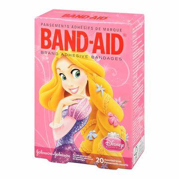 Johnson & Johnson Band-Aid Bandages - Disney Princesses - 20's - Assorted Sizes