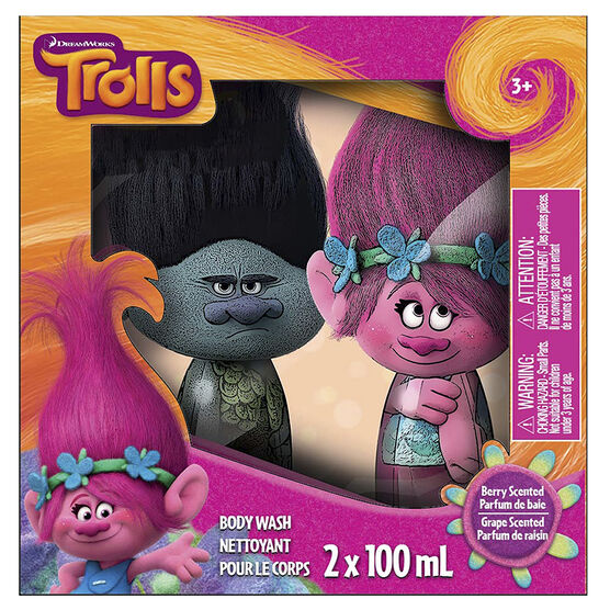 DreamWorks Trolls Body Wash - Berry - 2 x 100ml