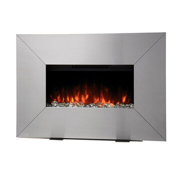 Bionaire Electric Fireplace Heater Stainless Steel Bef6700led Cn London Drugs