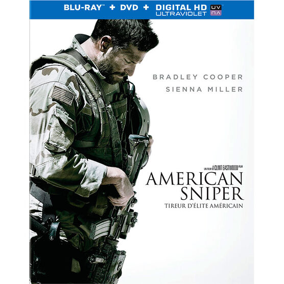 American Sniper - Blu-ray + DVD + Digital HD