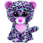 Ty Beanie Boos - Tasha the Pink & Grey Leopard