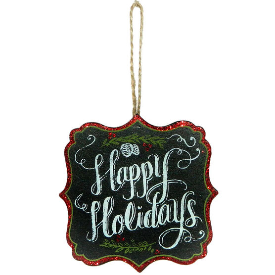 Christmas Forever Happy Holidays Sign - XM-JC5100