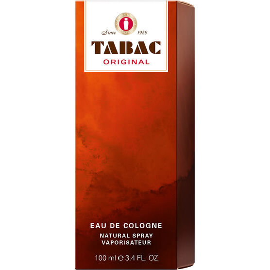 Tabac Original Eau de Cologne Natural Spray - 100ml