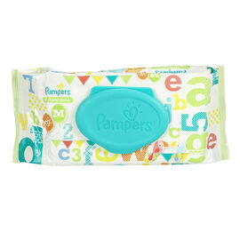 Pampers Wipes Natural Clean - 64's