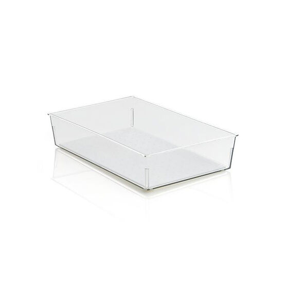 MadeSmart Rectangular Bin - Clear - 9 x 6inch