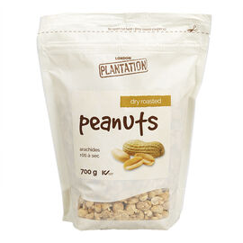 London Plantation Peanuts - Dry Roasted - 700g