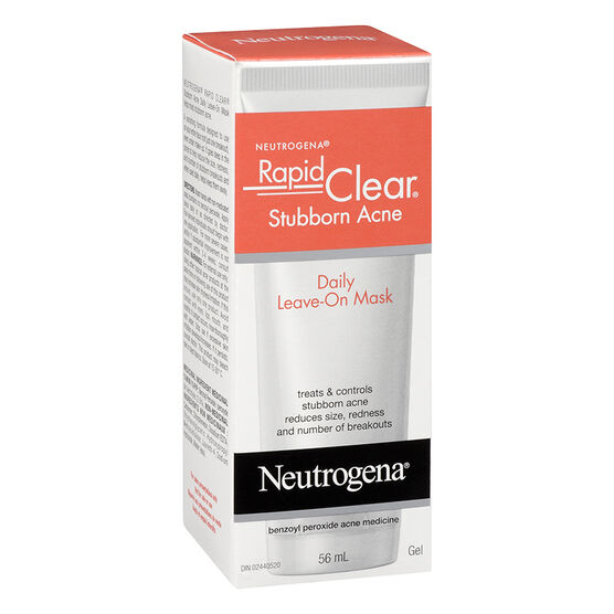 Neutrogena Rapid Clear Stubborn Acne Leave-On Mask - 56ml