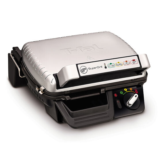 T-fal Super Grill - Silver and Black - GC450B52