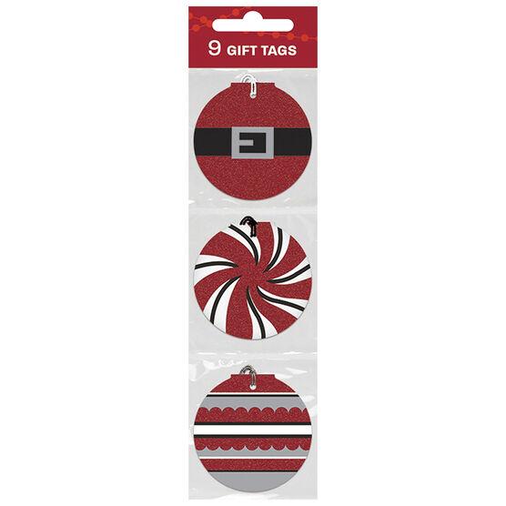 Christmas Alpine Swirl Gift Tags - 9s