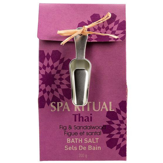 Spa Ritual Bath Salts - Thai - 200g