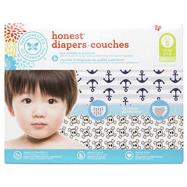 Honest Diapers - Size 5 - 50's - Boys
