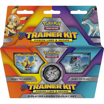 Pokemon Trainer Kit - Pikachu Libre & Suicune