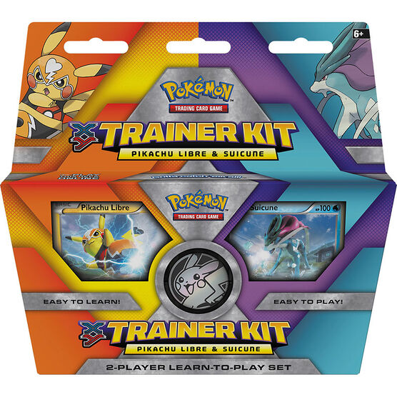 Pokemon Trainer Kit - Pikachu Libre & Suicune
