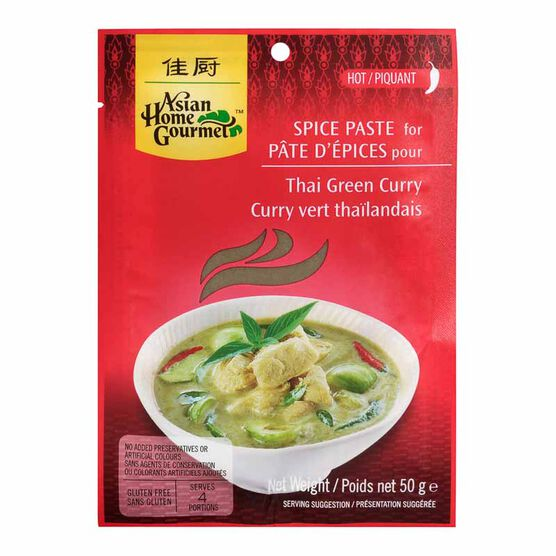 Asian Home Gourmet Thai Green Curry - 50g