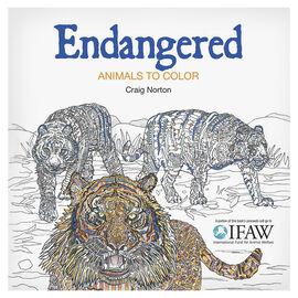 Endangered Colouring Book