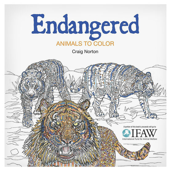 Endangered Colouring Book