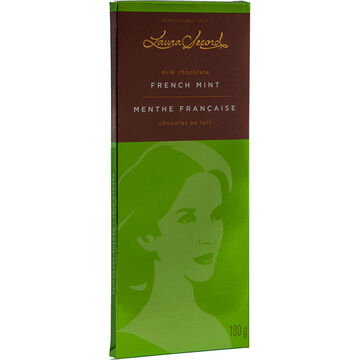 Laura Secord Chocolate Bar - French Mint - 100g