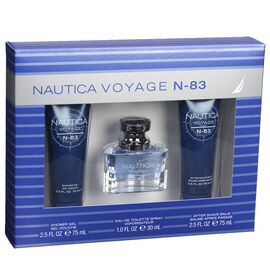 Nautica Voyage N83 Men's Fragrance Gift Set - 3 piece