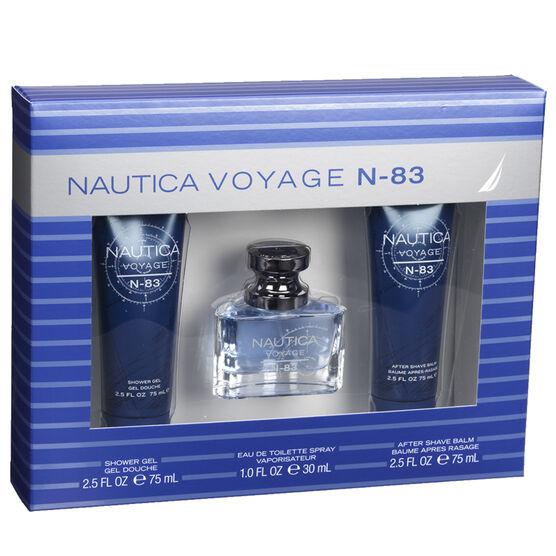 Nautica Voyage N83 Men's Fragrance Gift Set - 3 piece