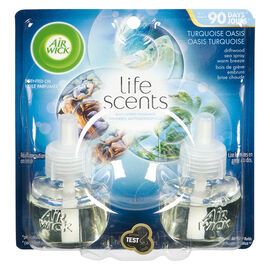 Airwick Life Scents Scented Oil Refill - Turquoise Oasis - 2 x 20ml