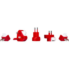 12 South PlugBug World Charger - White/Red - TS-12-1211