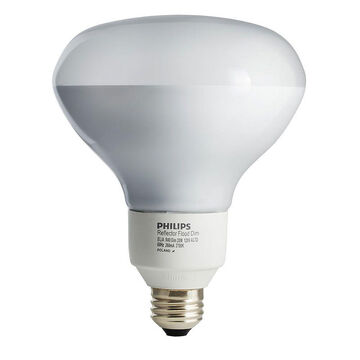 Philips Dimmable CFL Bulb - 20w/BR40 - 137083