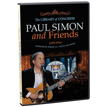 Paul Simon And Friends: The Library of Congress Gershwin Prize for Popular Song - DVD
