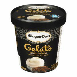 Haagen Dazs Gelato - Stracciatella - 500ml